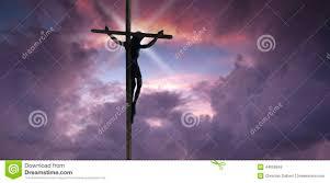 jesus christ on the cross stock photo image 44608949