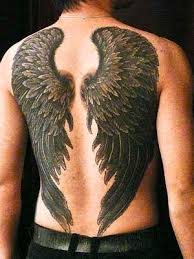 Wing Back Tattoos For - wings i usually don t like wing on the back tattoos but