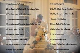 wedding cake cutting songs creating the sound track for your wedding part two wedding list