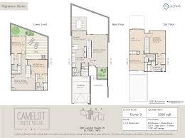 deck floor plan floor plans camelot west villas