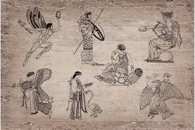 mural ancient roman fresco painting wallpapers mural ancient roman fresco painting