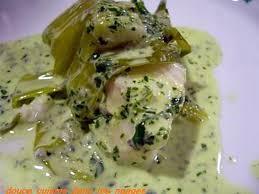 cuisiner de la lotte recette de lotte vapeur et sa sauce verte