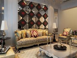 Creative Chandelier Ideas Living Room Contemporary Creatuve Living Room With Cream Leather