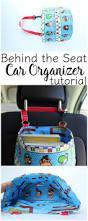behind seat car organizer tutorial car organizers tutorials and