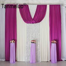 wedding backdrop curtains 10x10ft sequin wedding backdrop curtains for event party