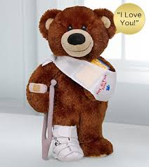 get well soon bears delivery get well by build a workshop i loveyou sound so