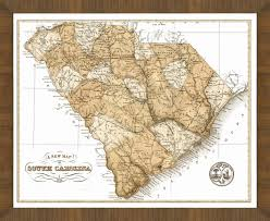 Old Map Old Map Of South Carolina U2013 A Great Framed Map That U0027s Ready To Hang