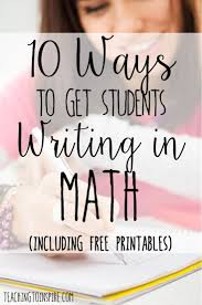 how to write an action research paper in education math best 25 writing in math ideas on pinterest sets in math in this post shares 10 ways to get your students writing in math class and enjoying