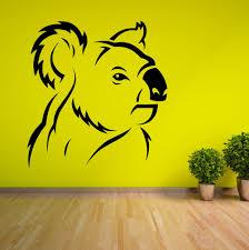 popular australia wall decal buy cheap australia wall decal lots koala bear australia vinyl wall art sticker roo decal animal china