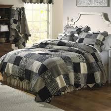 Cabelas Home Decor by Eurosham U0026 Bedskirt Just Black Tailored