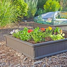 Raised Garden Bed Designs Amazon Com Lifetime 60053 Raised Garde Bed Kit 2 Beds And 1