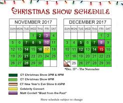 pigeon forge show schedule at country tonite
