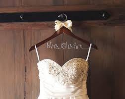 wedding dress hanger wedding dress hanger etsy