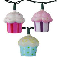 Novelty String Lights by Cupcakes String Lights Set Food String Light Strands