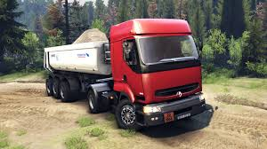 renault trucks premium renault premium red for spin tires