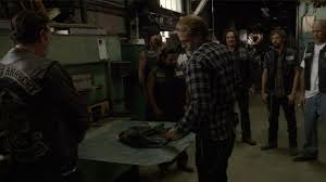 Sons Of Anarchy Meeting Table The 9 Most Shocking Moments From The Sons Of Anarchy Finale