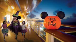 halloween on the high seas with disney cruise line destinations