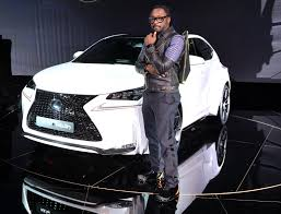 white lexus black roof will i am designs an ultra stylish edition of the lexus nx 200t f