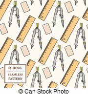 fournitures bureau en ligne fournitures école icône ligne mince toile école clipart