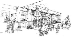quick concept sketches for a child care center
