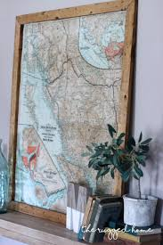 how to decorate with vintage maps simple decorating with maps