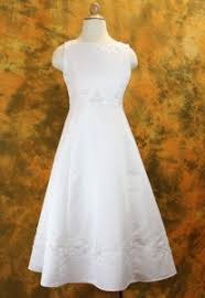view all first communion dresses from catholic faith store