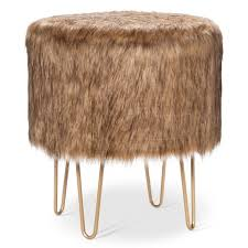 Target Ottomans It Or It Target S Fur Ottoman It S Edgy Modern And
