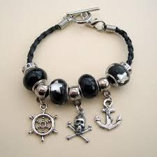 pandora style charm bracelet images Pirate bracelets and charm bracelets pirate treasures handmade jpg