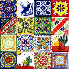 El Patio San Antonio by Hand Painted Mexican Clay Tiles Purchased At El Mercado In San