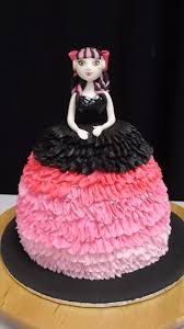 high cake ideas high draculaura cake made by sandie at cakeaters edible