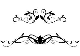 free floral ornamental border vectors free vector