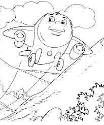 jay jay jet plane coloring free download