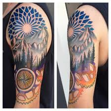 55 amazing nature tattoos for nature tattoo regarding tattoo ideas