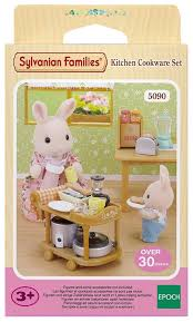 Rabbit Kitchen Accessories Buy Sylvanian Families Kitchen Cookware Set