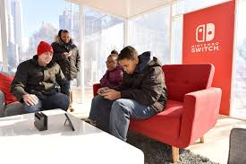 photos of the nintendo ny store nintendo switch launch unexpected