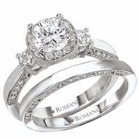 gold wedding set collection engagement rings modesto s best engagement rings