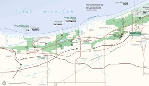 French Creek State Park Map by Indiana Dunes National Lakeshore West End Maps Pinterest