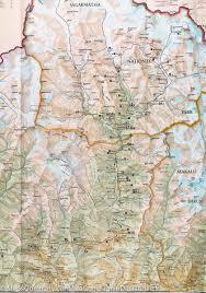 National Geographic Map Trekking Map Of Khumbu Nepal National Geographic U2013 Mapscompany