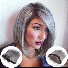 black at root of hair peruvian 13x4 ombre t1b grey lace frontal closure swiss lace