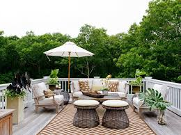 Hamptons Style Outdoor Furniture - outdoor deck furniture ideas simplylushliving