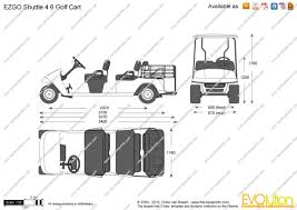golf cart dimensions with schematic pics 37626 linkinx com