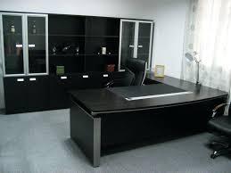 Metal L Shaped Desk Black Glass Office Desk U2013 Adammayfield Co