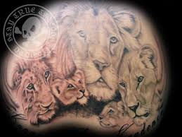 lions back stay true tattoos