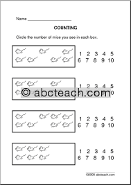 counting number recognition worksheets mreichert kids worksheets