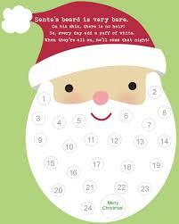 santa u0027s beard christmas countdown holidays pinterest advent