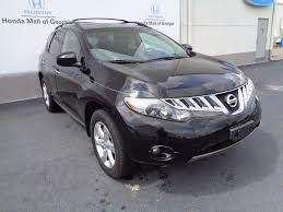 nissan murano aux port 2009 used nissan murano awd 4dr le at honda mall of georgia