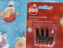 b q spare tree light lamp bulbs bqm6 bqm16 05018024