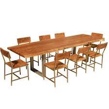 live edge acacia wood u0026 iron 106