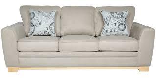 sofa in catherine three seater sofa in beige davenue