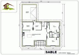 plan de maison avec cuisine ouverte plan de maison réalisé par tle maitre d œuvre à paul les dax